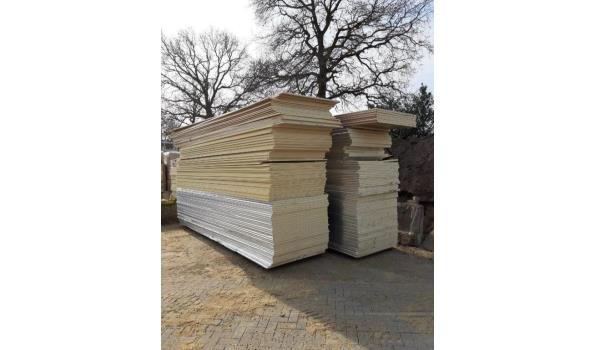 KNAUF gipsplaten 260x120cm voor douche, keuken natte cel 3.12m2 per plaat - totaal 20 platen