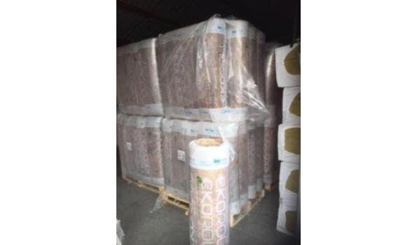 A-kwaliteit KNAUF EKOROL isolatie 15cm (d) - 20 rollen