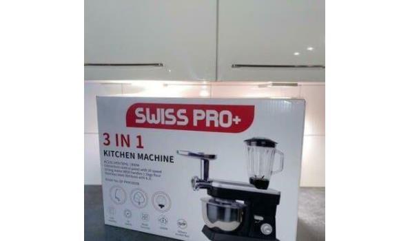 SwissPro+ keukenmachine