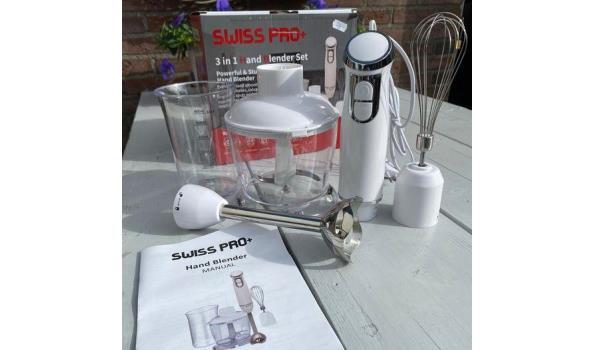 SwissPro+ hand blender set