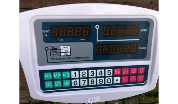 AK digitale weegschaal 300kg
