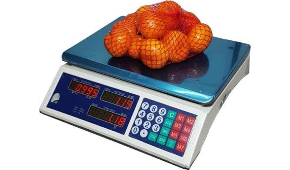 Digitale horeca/markt weegschaal 40kg