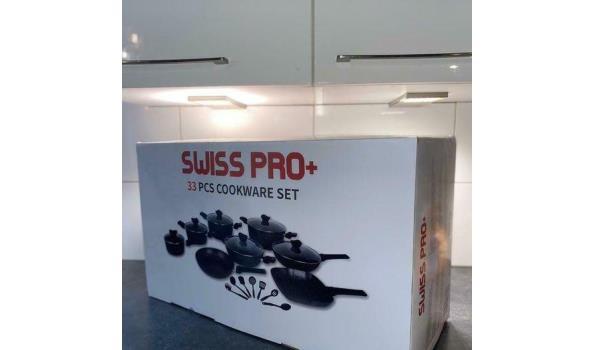 Pannenset Swiss Pro+ 33-delig