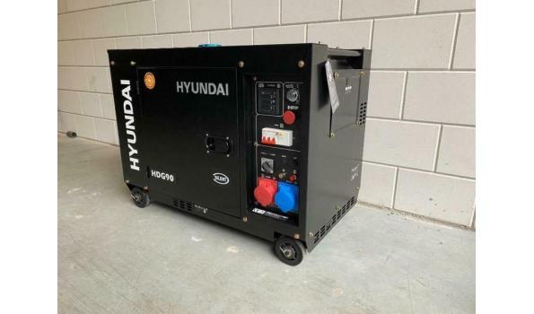 Diesel aggregaat Hyundai 7.5 Kva
