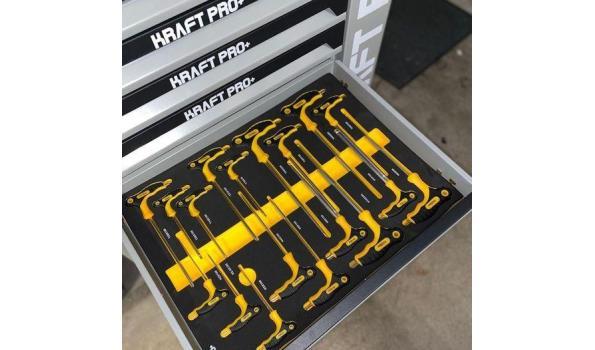 KraftPro+ Professional line gereedschapswagen
