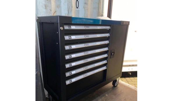 SG Tools gereedschapswagen 6 lades