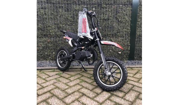 Minicrosser Mini dirt bike 2takt 49c Rood Zwart