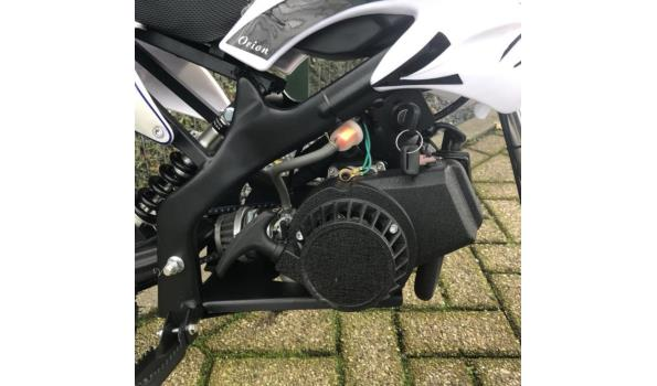 Minicrosser Mini dirt bike 2takt 49c blauw Wit