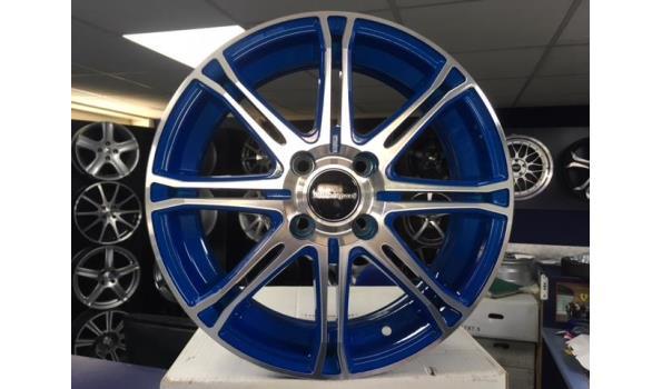 Motorsport KR721 aluminium velgenset - 4x100 5.5J et35