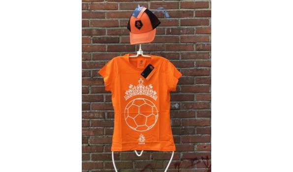 EK voetbal / Oranje fan outfit – maat: L