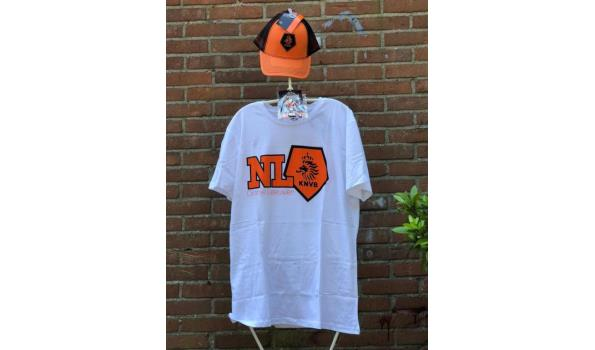 EK voetbal / Oranje fan outfit – maat: S