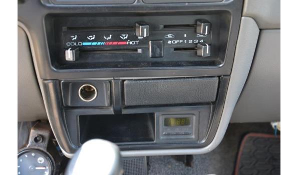 Opel Campo TDS incl. aanhangwagen (BE-trekker combinatie)