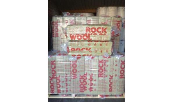 Rockwool isolatiemateriaal 10cm (d) - 20 pakken