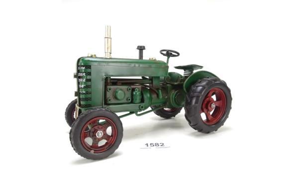 Blikken tractor