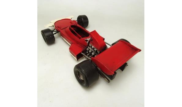 Blikken raceauto