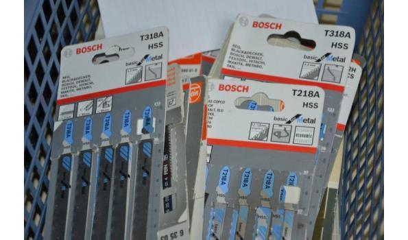 Bosch decoupeerzaagjes - aantal ca. 60 pakjes