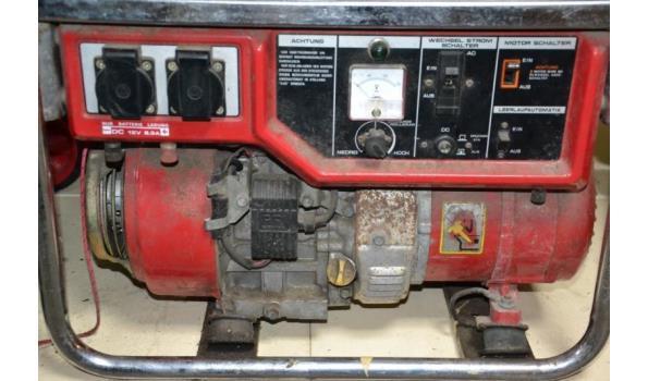 Honda benzine aggregaat type EM1900