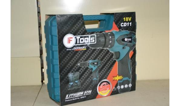 F-Tools accuboormachine model BS6013