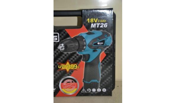 F-Tools accuboormachine type MT26