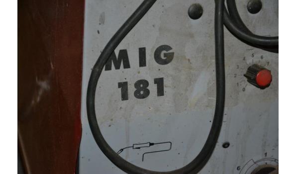 Mig-lasapparaat