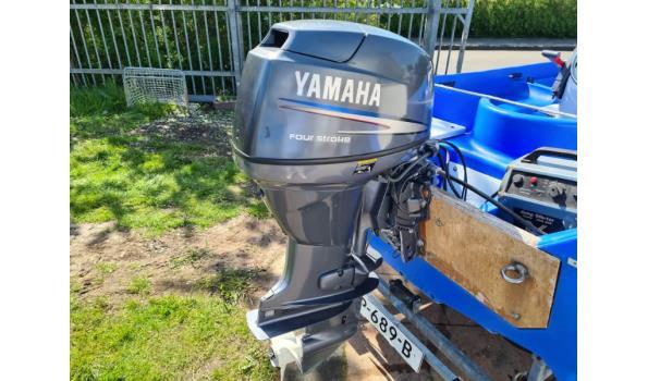 Boot incl. Yamaha buitenboordmotor 30PK