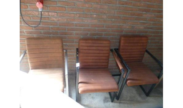 Design stoelen - 3 stuks