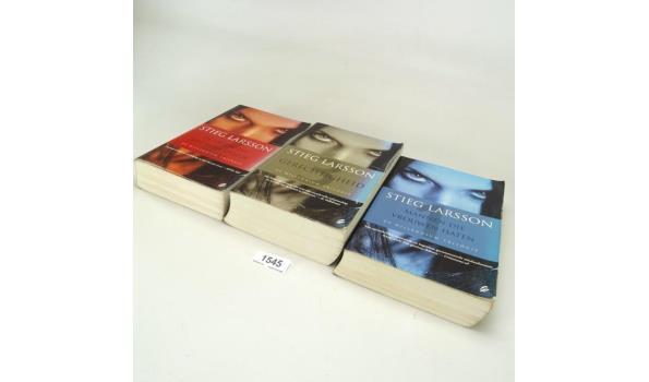 3 X Stieg Larson boeken