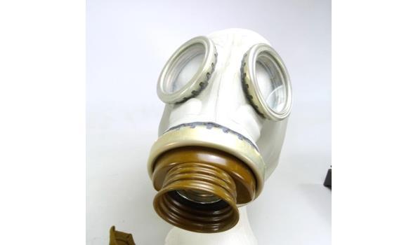Gasmasker met draagtas