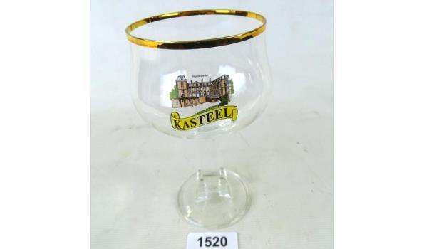 Kasteel bierglas