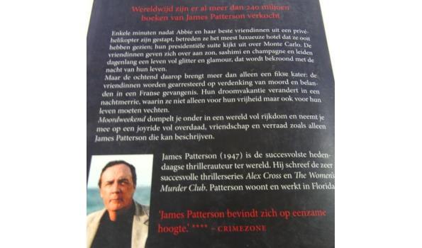 James Patterson. Moord weekend