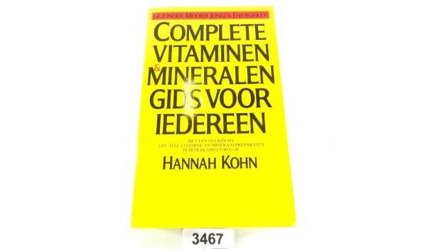 Complete vitamine gids voor iedereen