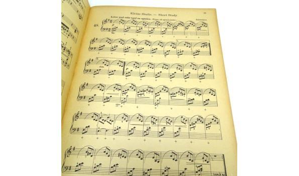 Muziekboek funfundsiebzig ausgewahlte etuden