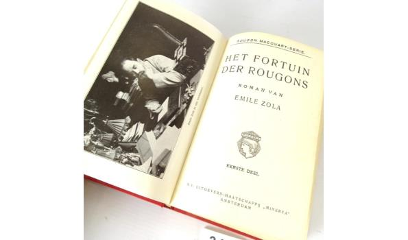 Emile Zola. Het fortuin der Rougons