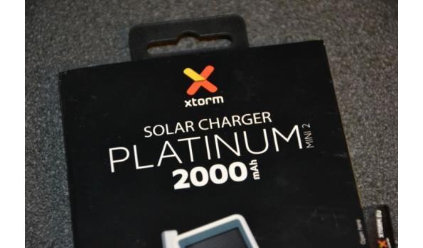 Powerbank op zonne-energie - 2 stuks