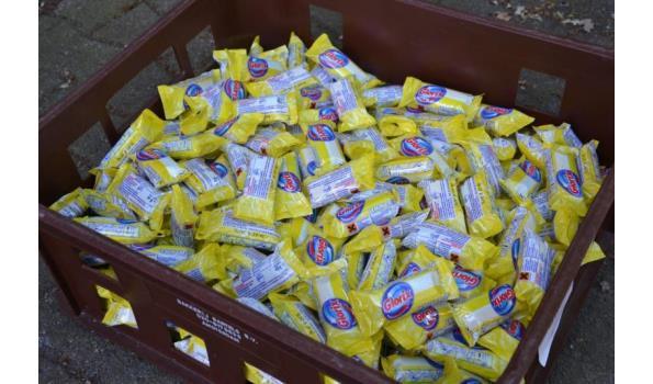 Glorix toiletblokjes Lemon Fresh - aantal ca. 350 stuks