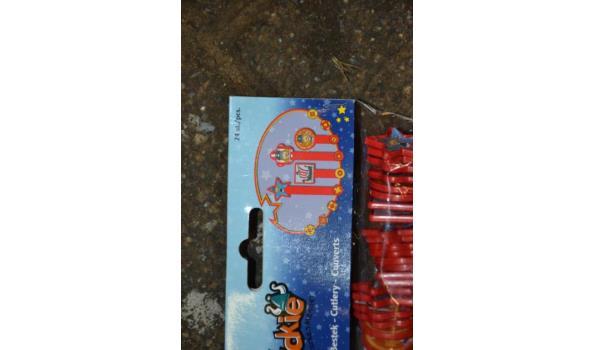 Partij wegwerp bestek (plastic)