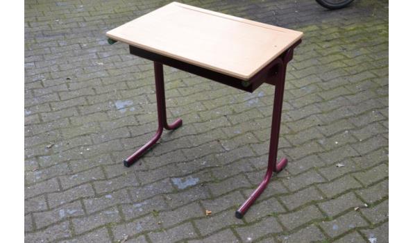 Schoolmeubilair bureau & stoel