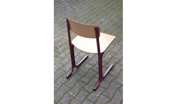 Schoolmeubilair bureau & stoel - 5 sets
