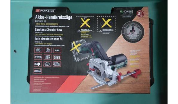 Accu-handcirkelzaag - Parkside PHKSA 12 B3