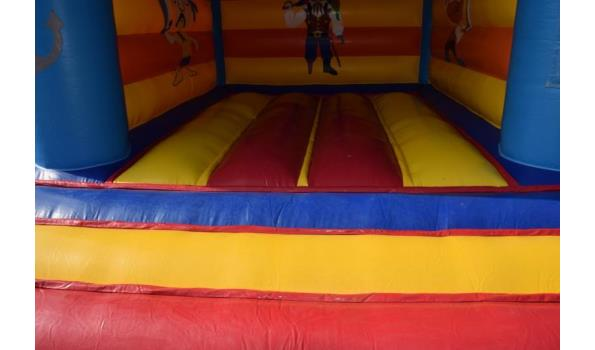 JB-Inflatable springkussen, excl. pop