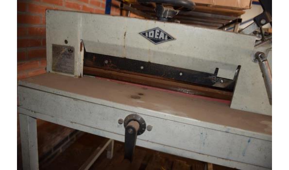 Ideal stapelsnijmachine type Fort 45-45/U