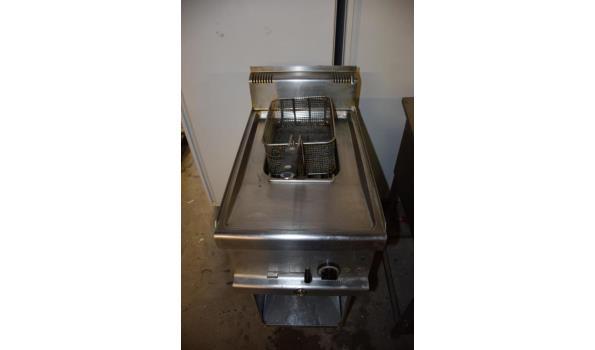 Bijkerk Professional horeca friteuse op RVS onderstel
