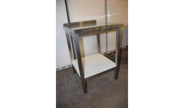 Werktafel, RVS - 60x70x90cm