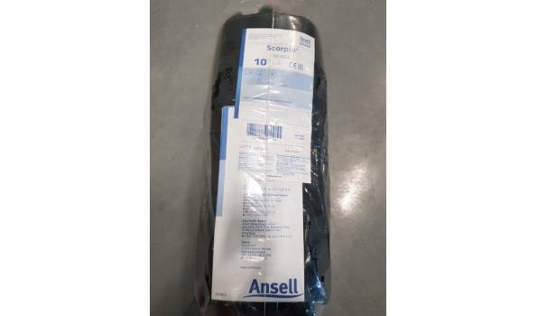 Ansell Handschoenen neox zwart 12 paar maat 10