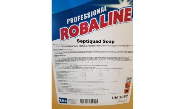Professional robaline septiquad soap desinfectiemiddel 20L