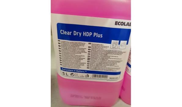 Ecolab clear dry HDP plus 2x5L