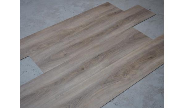 PVC Vloer XXL Ultimum, klik, 60,5 m2, grijs gerookt