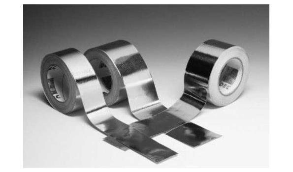 Aluminium dampdichte tape