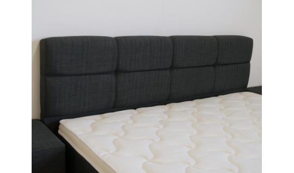Boxspring Miami 2.0, 140x210 cm, XL, taupe