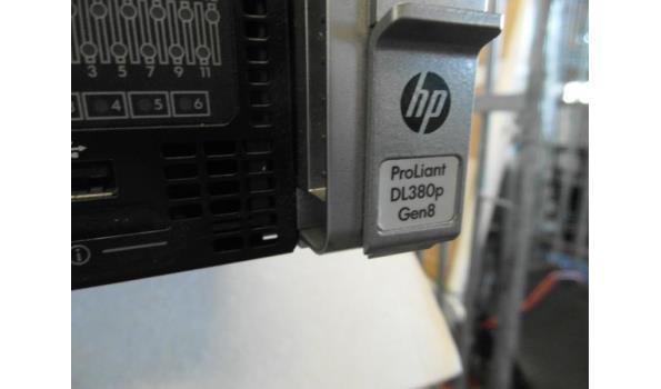 19-inch server rack unit HP Proliant DL380p / Gen8